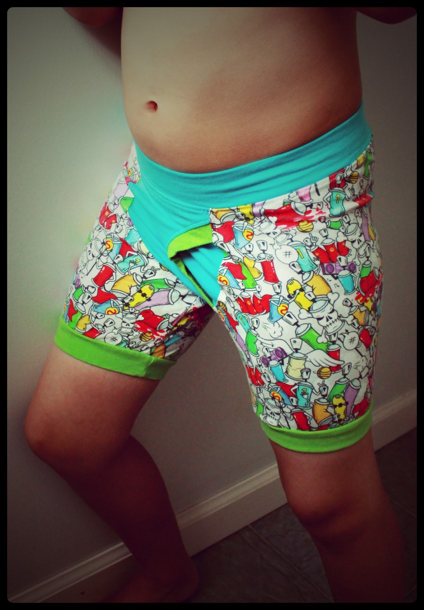 Boys Boxerwear with fly