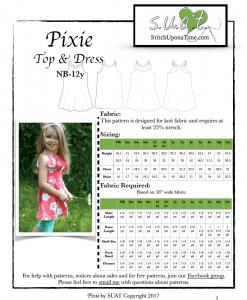 Suat Pixie Cover Photo PDF Pattern