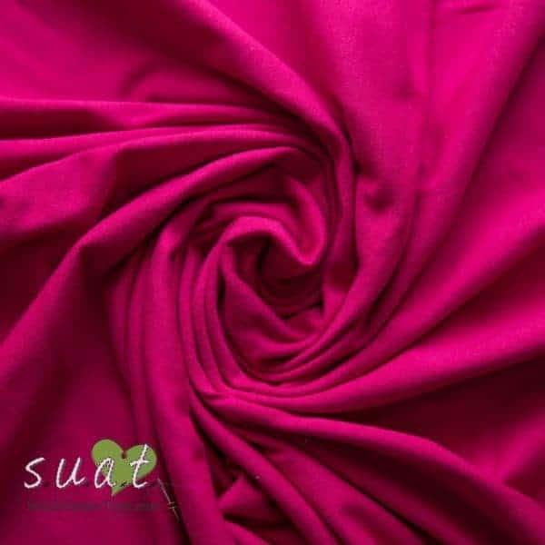 f0fa2d15e5d Solid Dark Pink Jersey Knit
