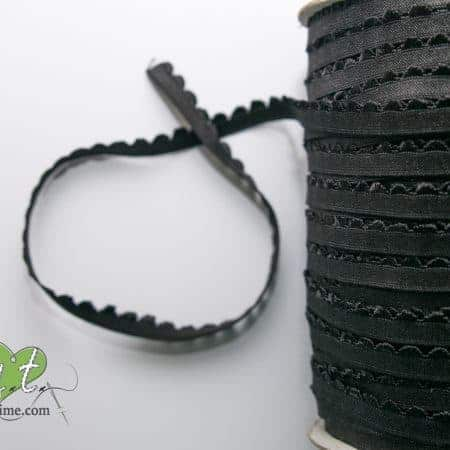 Black Lingerie Elastic