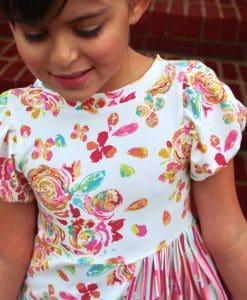 Wendybird Dress- Bubble Sleeves & Boatneck