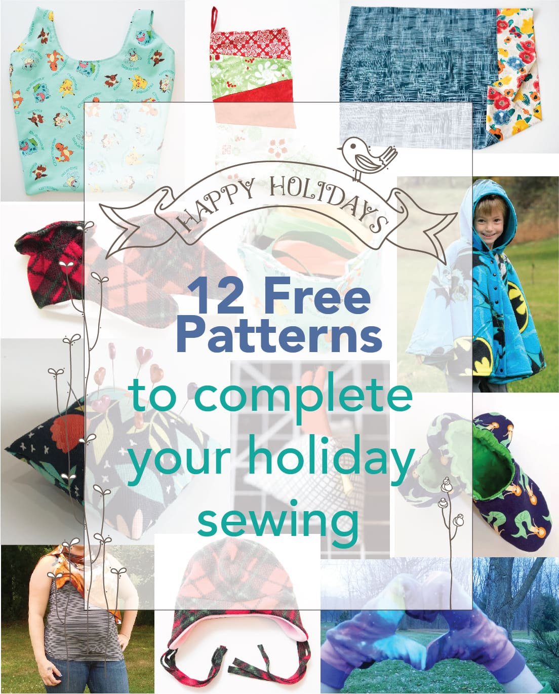 Holiday Gifts- Free Sewing Pattern Roundup